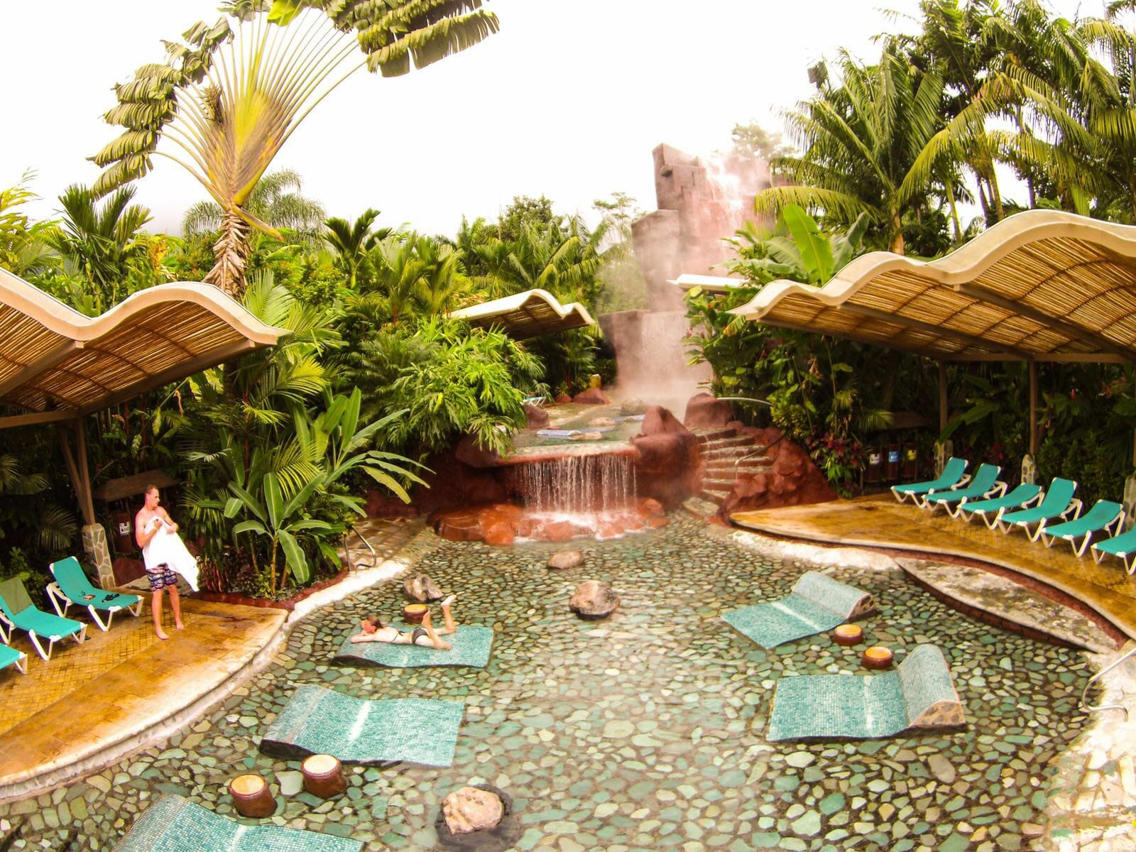 4 in1 Safari + Waterfall + Volcano + Baldi Hot Springs Tour