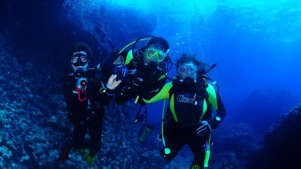 Scuba Diving at Catalinas Island